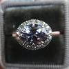 2.40ct Light Purple Sapphire Halo Ring 15