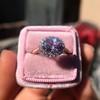 2.40ct Light Purple Sapphire Halo Ring 33
