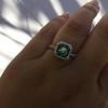 2.67ct Montana Sapphire Halo Ring 27