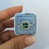 2.67ct Montana Sapphire Halo Ring 22