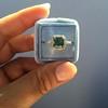 2.67ct Montana Sapphire Halo Ring 19