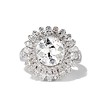 4.66ctw Old European Cut Diamond Halo Ring GIA L I1 0