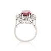 3.85ct Tourmaline & Diamond Spray Ring 4