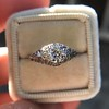 .50ct Old European Cut Diamond Filigree Solitaire 12