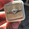 .50ct Old European Cut Diamond Filigree Solitaire 7