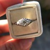 .50ct Old European Cut Diamond Filigree Solitaire 10