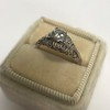 .50ct Old European Cut Diamond Filigree Solitaire 6