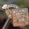 .50ctw Princess & Round Brilliant Diamond Dinner Ring 13