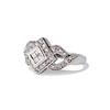 .50ctw Princess & Round Brilliant Diamond Dinner Ring 1