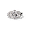.50ctw Princess & Round Brilliant Diamond Dinner Ring 0