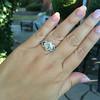 .50ctw Princess & Round Brilliant Diamond Dinner Ring 8