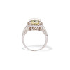 6.01ct Fancy Light Yellow Radiant Cut Diamond Halo Solitaire 2