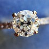 .81ct Old European Cut Diamond in Brian Gavin Setting 6