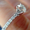 .81ct Old European Cut Diamond in Brian Gavin Setting 13