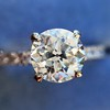 .81ct Old European Cut Diamond in Brian Gavin Setting 5