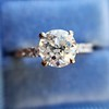 .81ct Old European Cut Diamond in Brian Gavin Setting 22