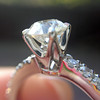.81ct Old European Cut Diamond in Brian Gavin Setting 8