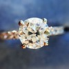 .81ct Old European Cut Diamond in Brian Gavin Setting 19