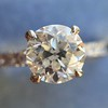 .81ct Old European Cut Diamond in Brian Gavin Setting 9