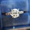 .81ct Old European Cut Diamond in Brian Gavin Setting 20
