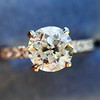 .81ct Old European Cut Diamond in Brian Gavin Setting 18