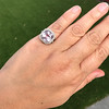 8.40ct Light Pink Purple Sapphire Halo Ring 34