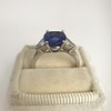 3.95ct Sapphire and Diamond 3-Stone Ring 3
