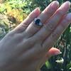 2.65ct (est) Sapphire and Diamond 3-Stone Ring 16