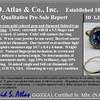 Vintage Sapphire Halo Ring 7