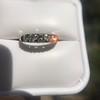 0.60ctw 5-stone Transitional Cut Diamond Band by Jabel 25