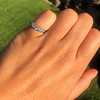 0.60ctw 5-stone Transitional Cut Diamond Band by Jabel 14