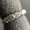 0.60ctw 5-stone Transitional Cut Diamond Band by Jabel 10