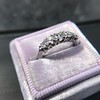 0.60ctw 5-stone Transitional Cut Diamond Band by Jabel 29
