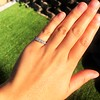 0.60ctw 5-stone Transitional Cut Diamond Band by Jabel 11