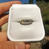 0.60ctw 5-stone Transitional Cut Diamond Band by Jabel 22
