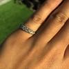 0.60ctw 5-stone Transitional Cut Diamond Band by Jabel 12