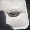 0.60ctw 5-stone Transitional Cut Diamond Band by Jabel 24