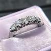 0.60ctw 5-stone Transitional Cut Diamond Band by Jabel 4