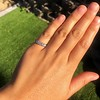 0.60ctw 5-stone Transitional Cut Diamond Band by Jabel 8