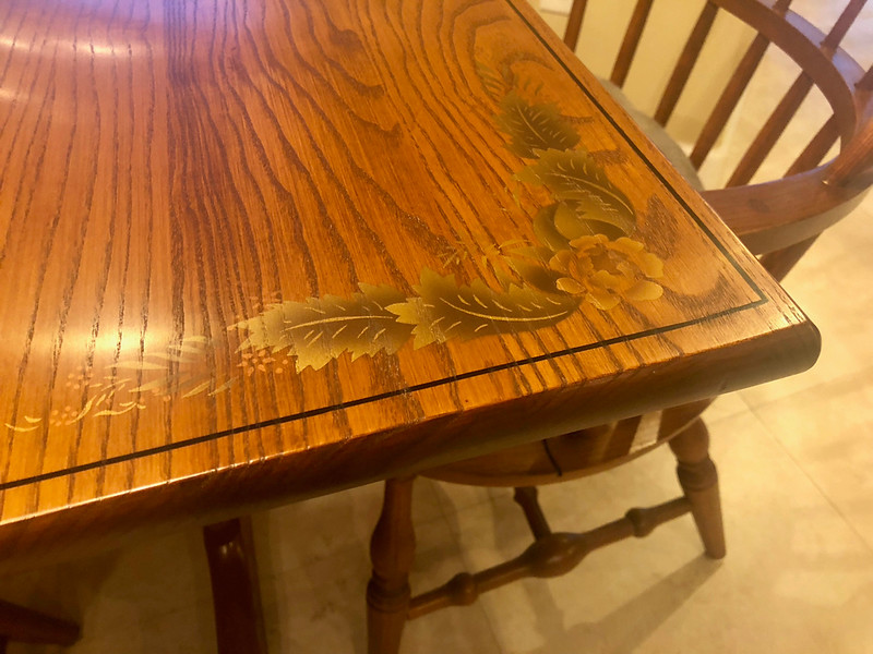 Sheffield Solid Cherry Wood Dining Table