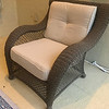 Rattan Patio Side Chair