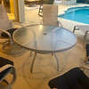 Outdoor Patio Set Glass Table
