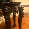 Plant Table Stand solid tropical hardwood