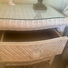 6 Piece Wicker Bedroom Bedside Table