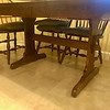 Sheffield Solid Cherry Wood Dining Set