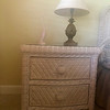 6 Piece Wicker Bedroom Side Table