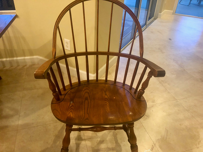 Sheffield Solid Cherry Wood Dining Chair