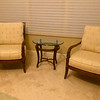 Flexsteel Cushioned Wood Parlor Chairs