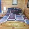 Beautiful new beds with new memory foam matresses that feel like heaven!
