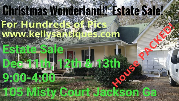 MEGA Christmas Wonderland Estate Sale~ YOU Must See To Believe!